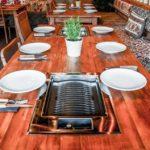 Tischgrill im Grillhaus Fes
