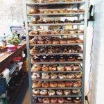Frischgebackene Donuts bei Brammibals