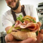 Sandwich mit Aufschnitt bei Kumpel und Keule