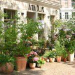 Außenansicht des Café Anna Blume