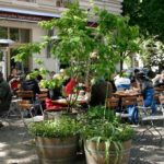 Terrasse des Café Anna Blume