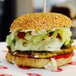 Veganer Burger im Glück to go